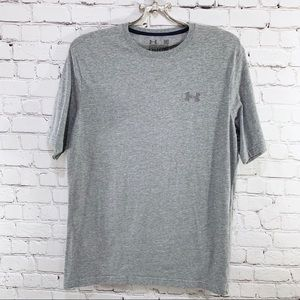 Under Armour Grey Charged Cotton T Shirt Size M
